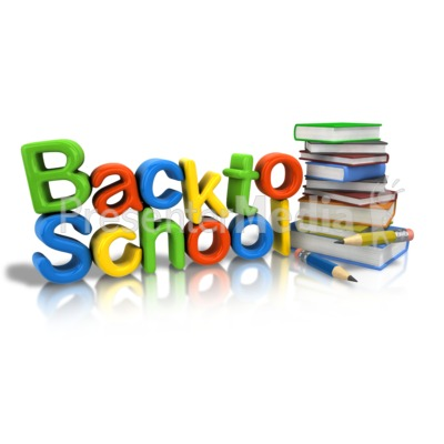 Back To School Supplies Presentation clipart
