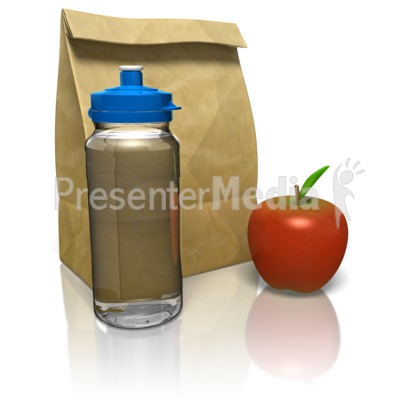 Sack Lunch Presentation clipart