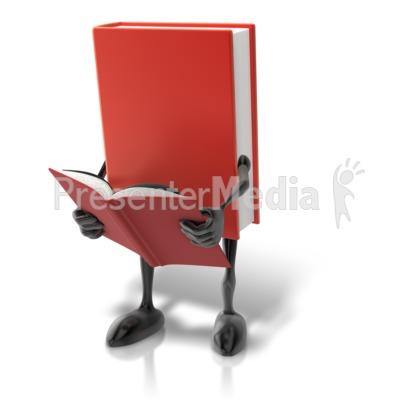 Book Character Reading Presentation clipart
