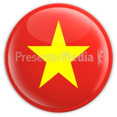 Badge of Vietnam Presentation clipart
