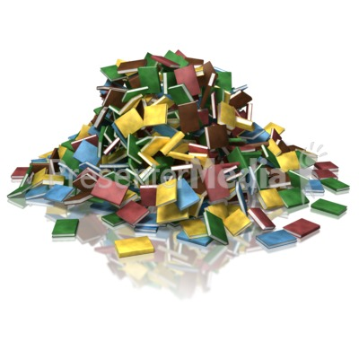 Book Pile Presentation clipart