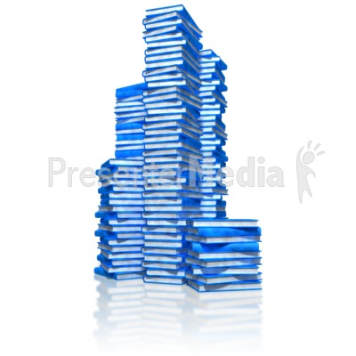 Book Stacks Presentation clipart