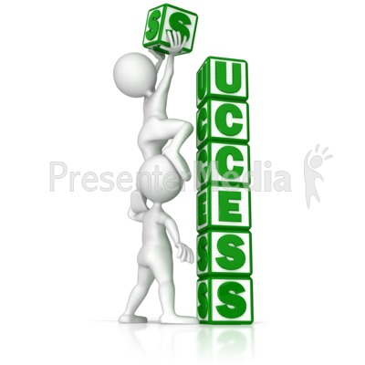 Building Success Presentation clipart
