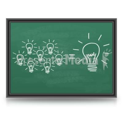 One Big Great Idea Presentation clipart