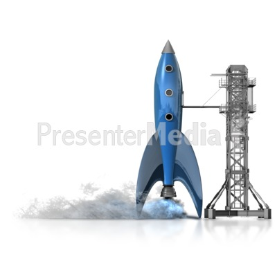 Rocket Launch Presentation clipart