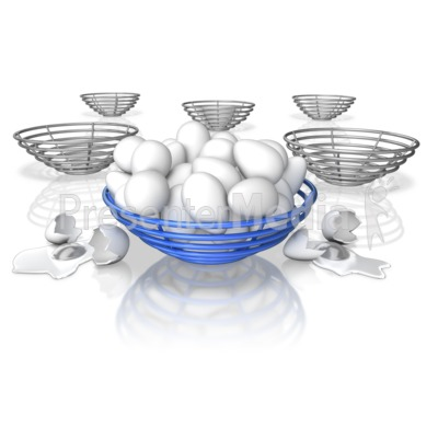 All Eggs In One Basket Presentation clipart