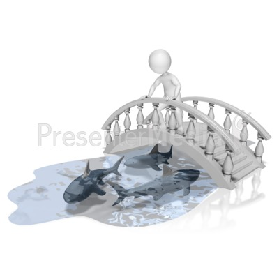 Bridge Over Troubled Water Presentation clipart