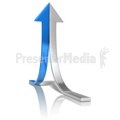 Arrow Halves Join Presentation clipart