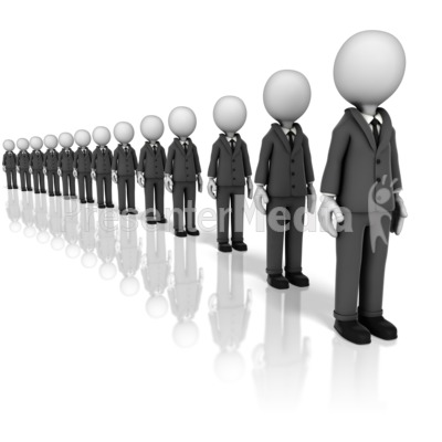 Long Line Presentation clipart