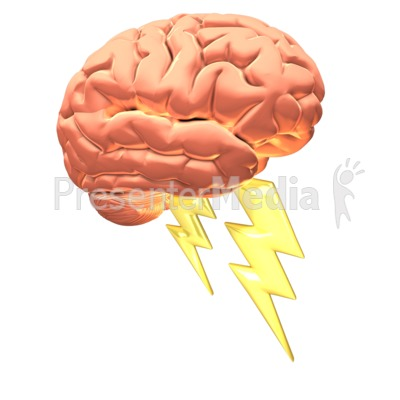 Brain Power Presentation clipart