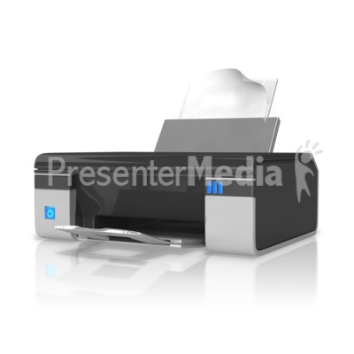 Office Printer Presentation clipart