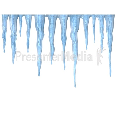 Icicles Presentation clipart