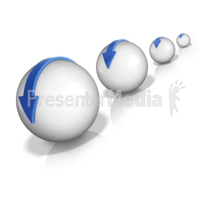 Snow Ball Effect Presentation clipart