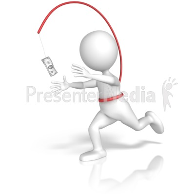 Endless Money Chase Presentation clipart