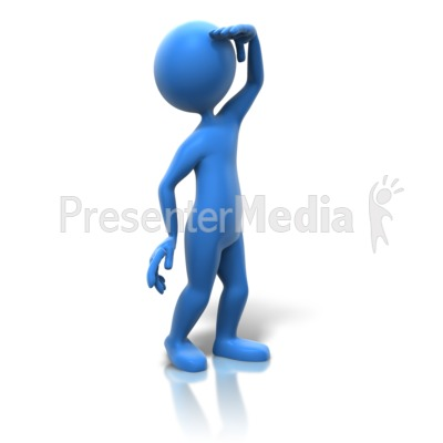 Searching Over There Presentation clipart