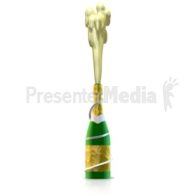 Champagne Celebration Presentation clipart