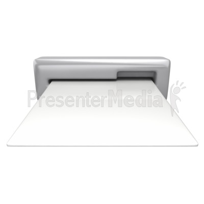 Card Insert Slot Presentation clipart