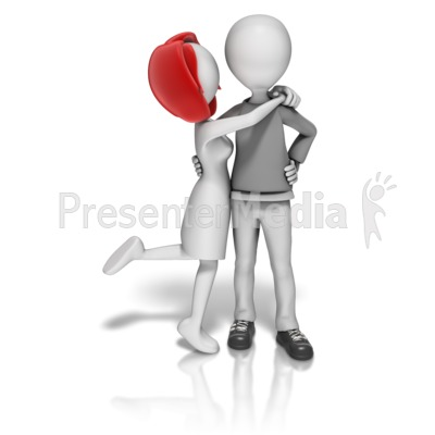 Couple In Love Presentation clipart