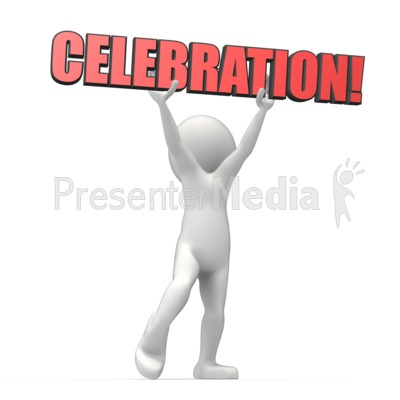 Celebration Text Presentation clipart