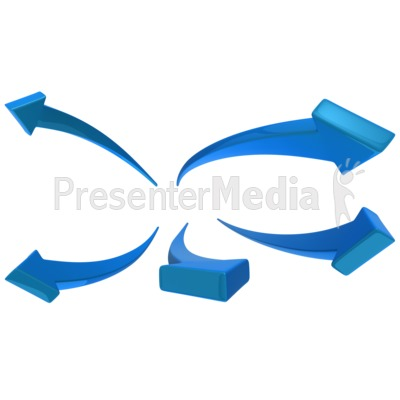 arrows swooping out presentation clipart great clipart for rh presentermedia com