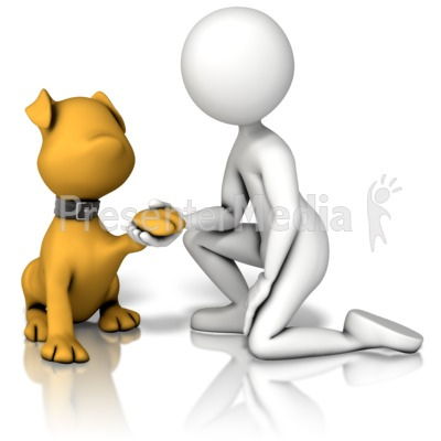 Mans Best Friend Presentation clipart