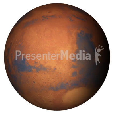 The Planet Mars Presentation clipart