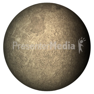 The Planet Mercury Presentation clipart