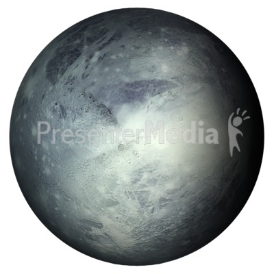 The Planet Pluto Presentation clipart