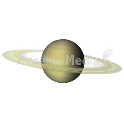 The Planet Saturn Presentation clipart