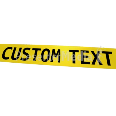 custom caution tape signs and symbols great clipart for rh presentermedia com caution tape border clip art yellow caution tape clipart