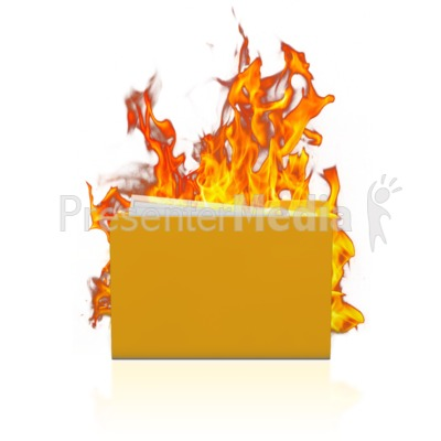 Folder Data Fire Presentation clipart