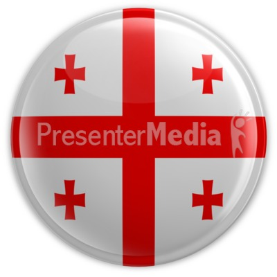 Badge of Georgia Presentation clipart