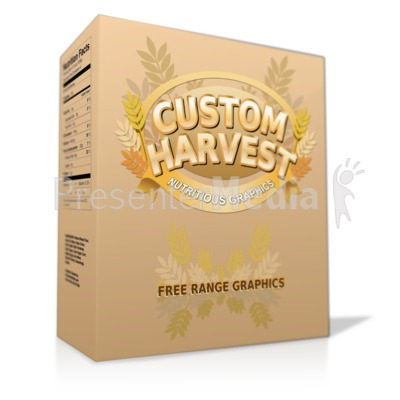 Product Box Presentation clipart