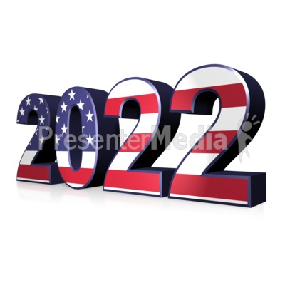 American Flag Custom Year Presentation clipart