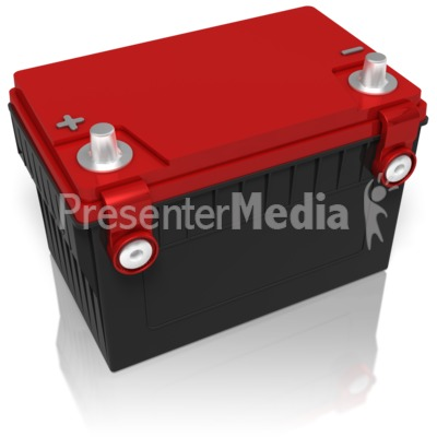 Car Battery Presentation clipart