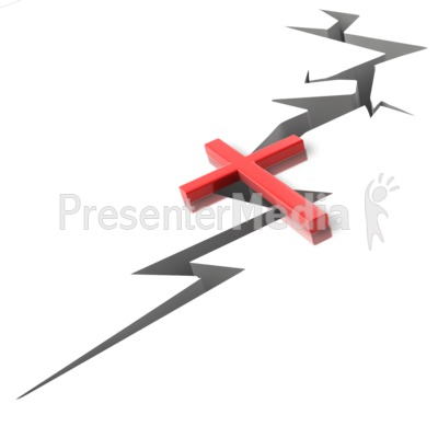 Cross The Gap Presentation clipart