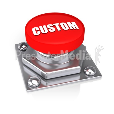 Red Button Presentation clipart