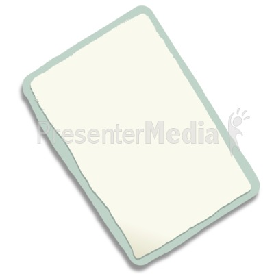 Rectangle Paper Scrap Presentation clipart