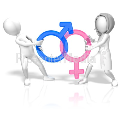 Gender Battle Presentation clipart