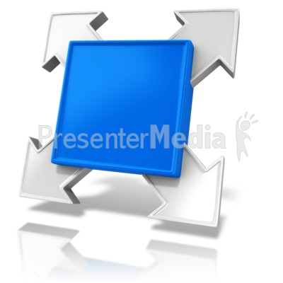 Single Square Element Presentation clipart