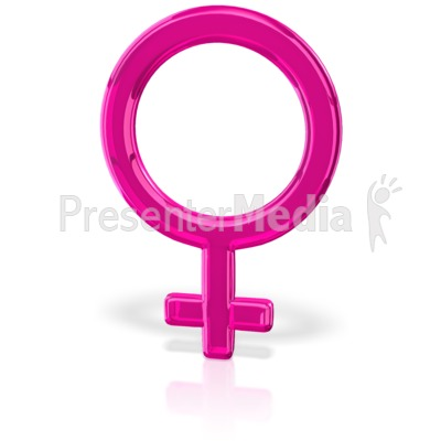 Gender Symbol Female Presentation clipart
