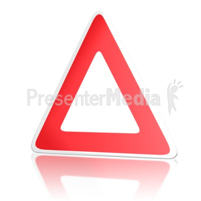 European Road Sign Presentation clipart