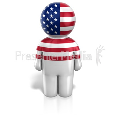 Usa Peg Figure Icon Presentation clipart