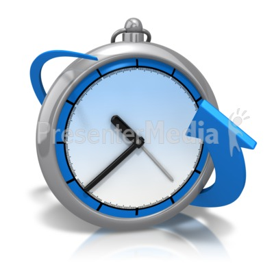 Bend Around Time Presentation clipart