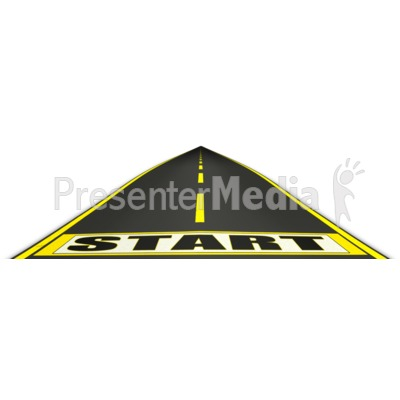 Journey Start Point  Presentation clipart