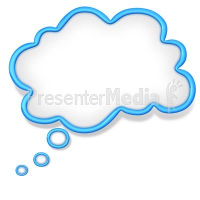 thought cloud bubble presentation clipart great clipart for rh presentermedia com clipart for presentations free clipart for powerpoint presentations