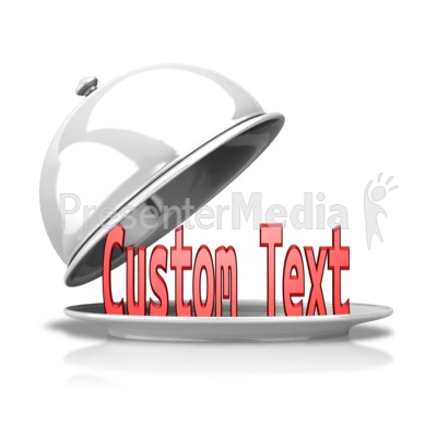 Custom Text Uncovered Presentation clipart