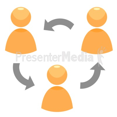 Circle Of People Presentation clipart