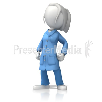 ESD Lady Proud Presentation clipart