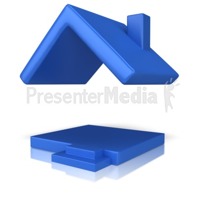 House With Just A Roof Presentation clipart